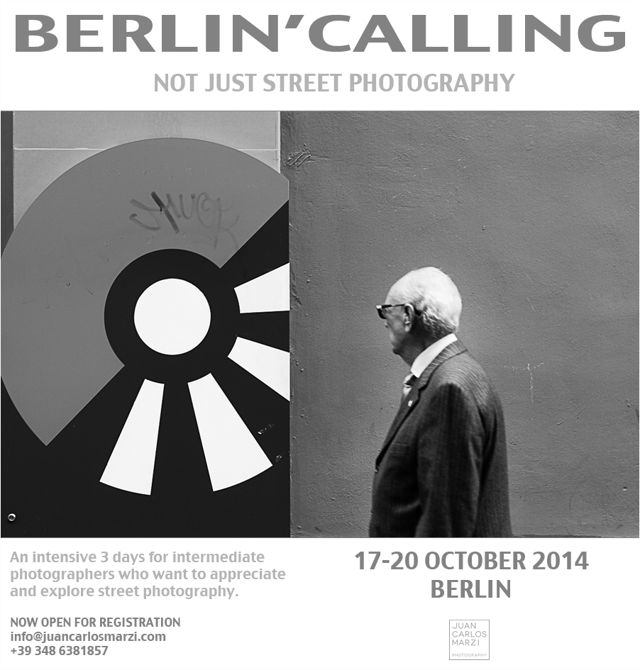 BERLIN'CALLING – not just street photography