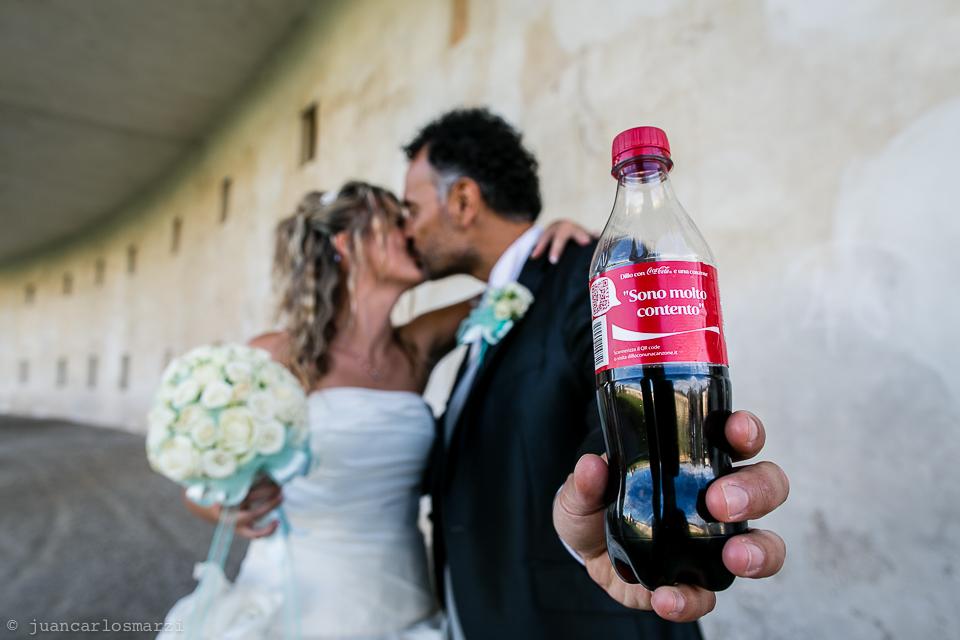 C'è qualcosa di preparato nei wedding reportage?