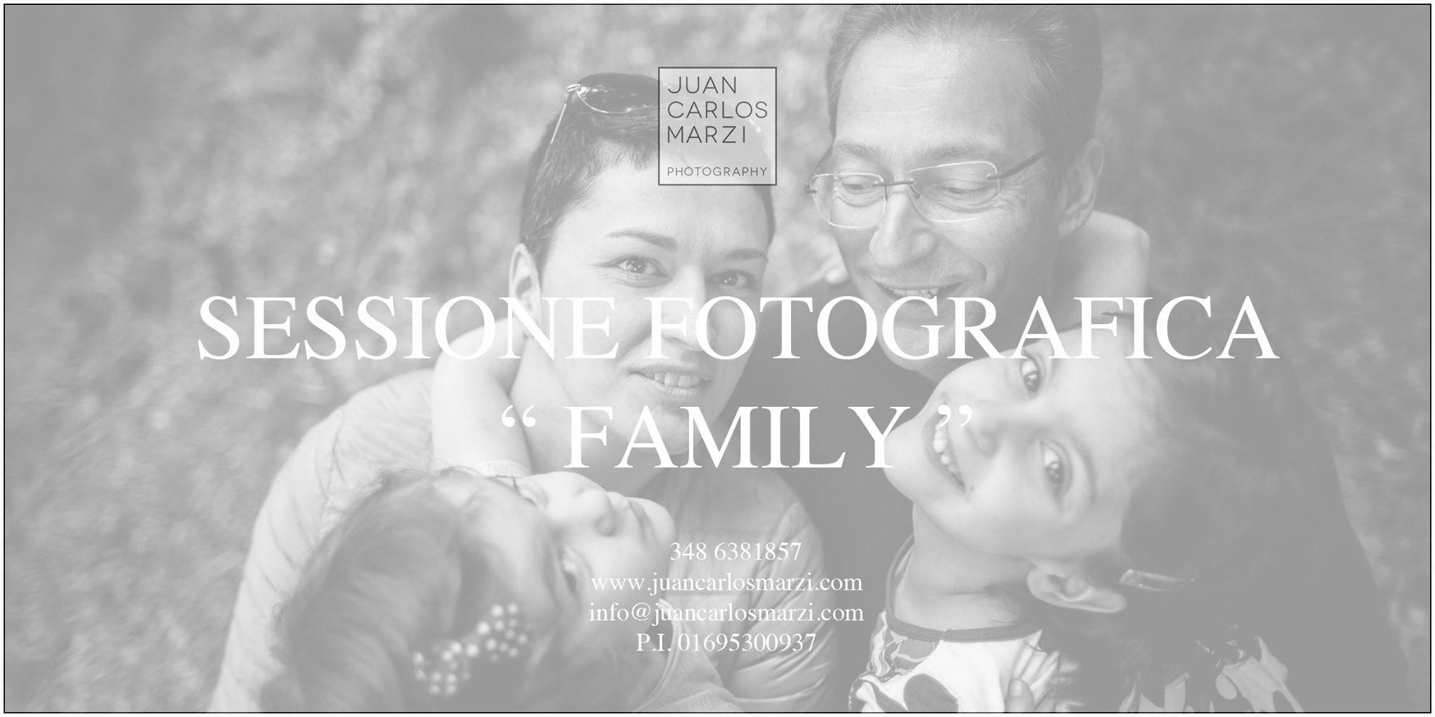 """, Arriva il Coupon sessione fotografica """" family""""."""