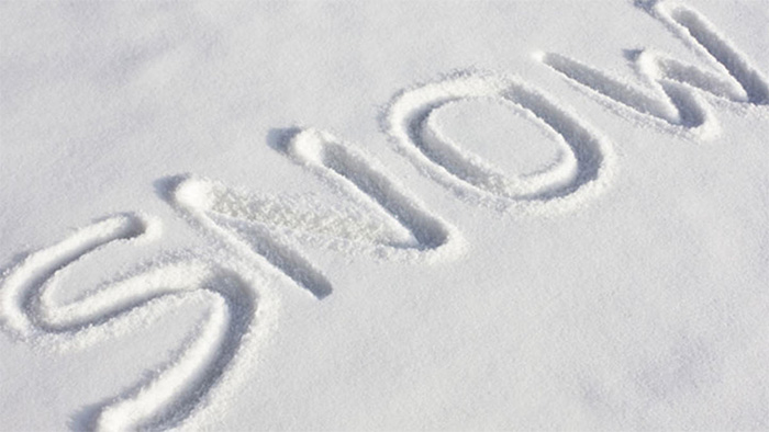 , Foto, matrimoni e neve: alcune cose da non dimenticare