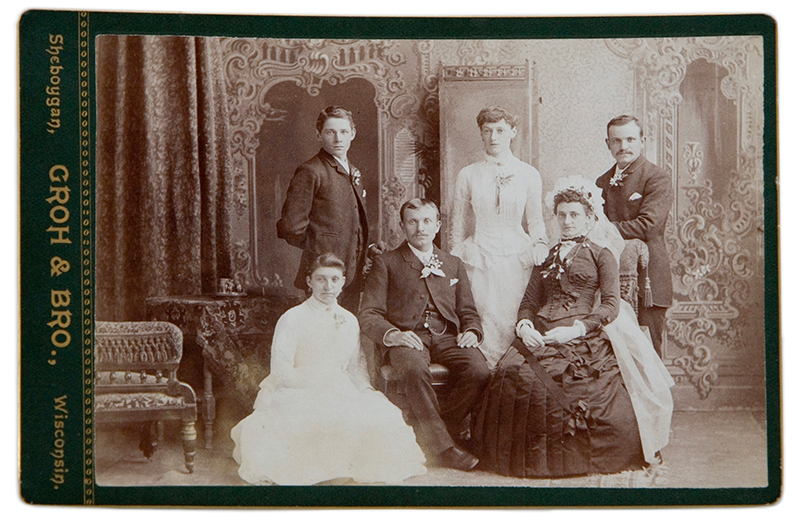 La storia della fotografia di nozze: 1840 -1950.